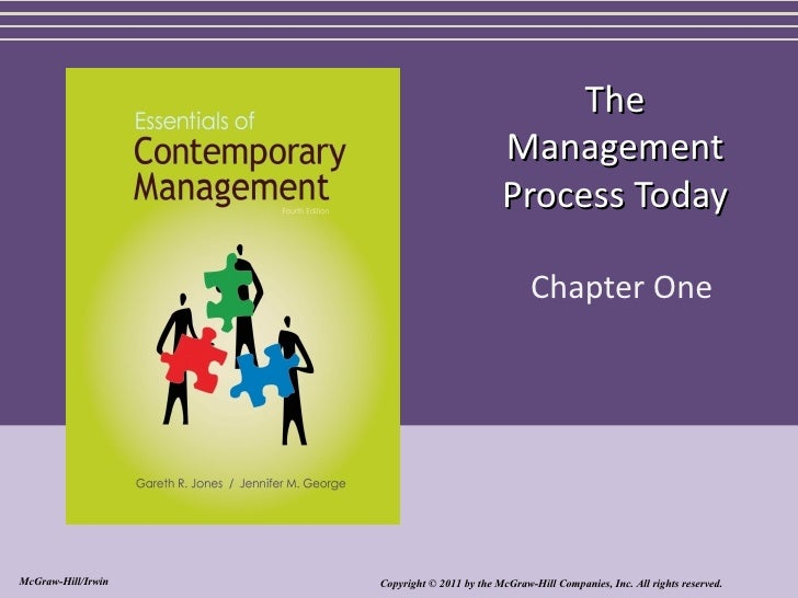 The                                             Management                                             Process Today      ...