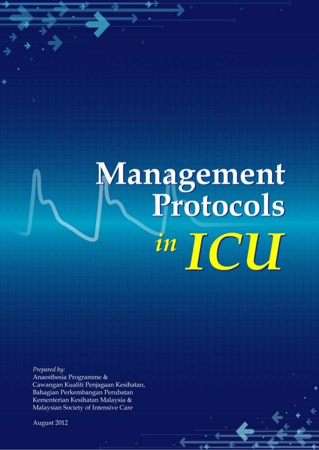 Icu Protocols Pdf