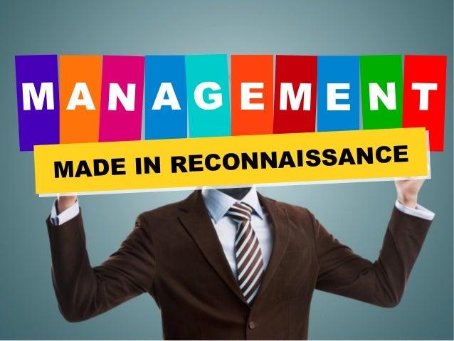 A A E E MADE IN RECONNAISSANCE MADE IN RECONNAISSANCE