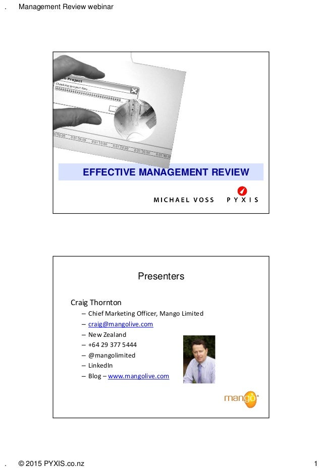Management Review Tips And Tricks For Effective Management
