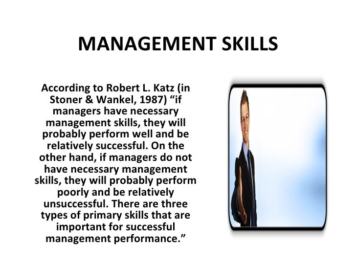 types of managerial skills