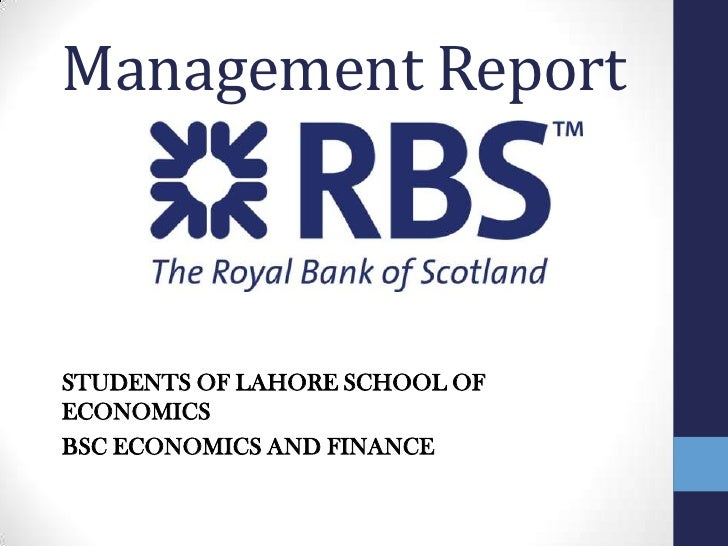 Management Report<br />STUDENTS OF LAHORE SCHOOL OF ECONOMICS <br />BSC ECONOMICS AND FINANCE<br />