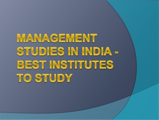 Popularity of Management Studies:  There are increasing numbers of students who are going for the management courses toda...