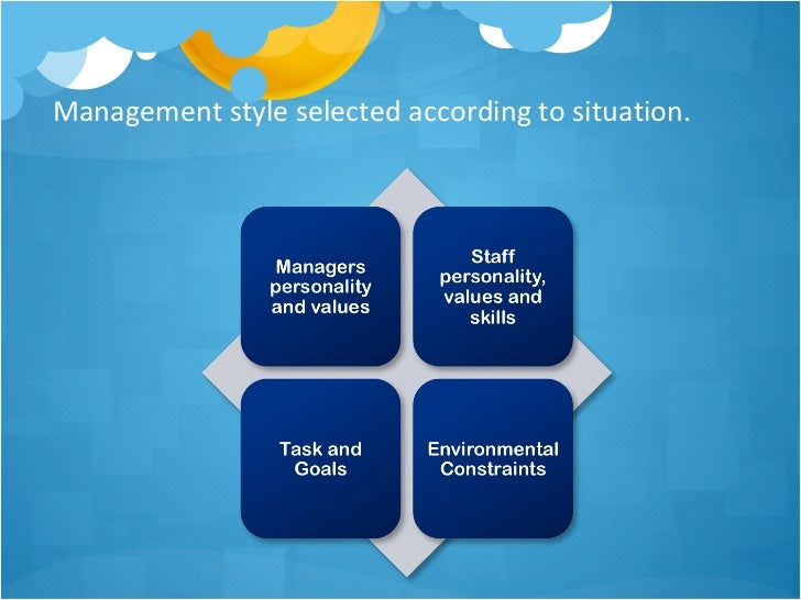 Styles of management
