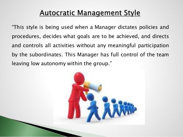 style of management The method of leadership that an administrator usually employs when running a businessdepending on business circumstances, a manager might need to employ more than one management style in a more or less formal way to achieve the highest degree of effectiveness in their role.