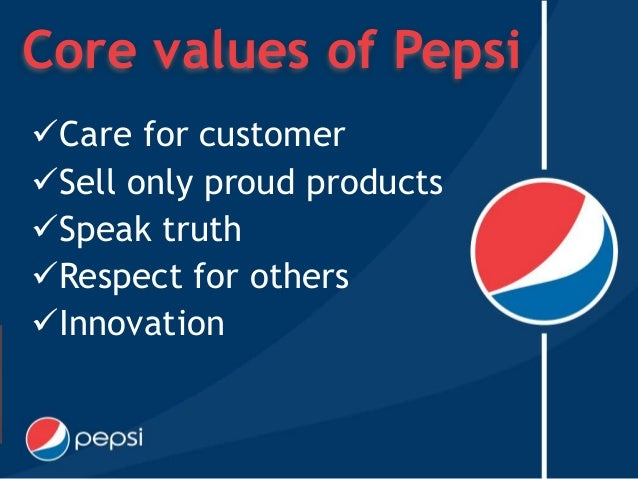 vision and mission statement of pepsi What is vision statement of pepsi co what is the vision and mission statement of pepsi nothing, just make money share to: dan galilee 71,367 contributions.