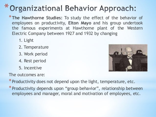 contribution of elton mayo management theory to modern management However, this theory has been contested, as mayo's purported role in the human relations movement has been questioned nonetheless, although taylorism attempted to justify scientific management as a holistic philosophy, rather than a set of principles, the human relations movement worked parallel to the notion of scientific management.