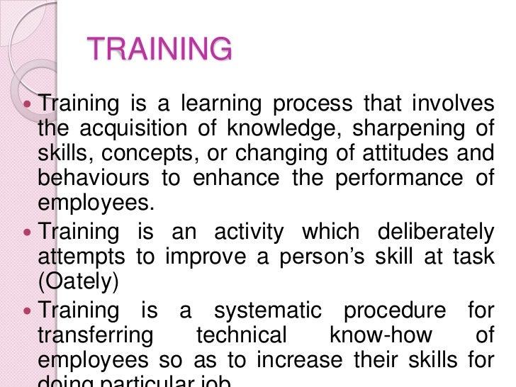 Management Training and Development Slide 2