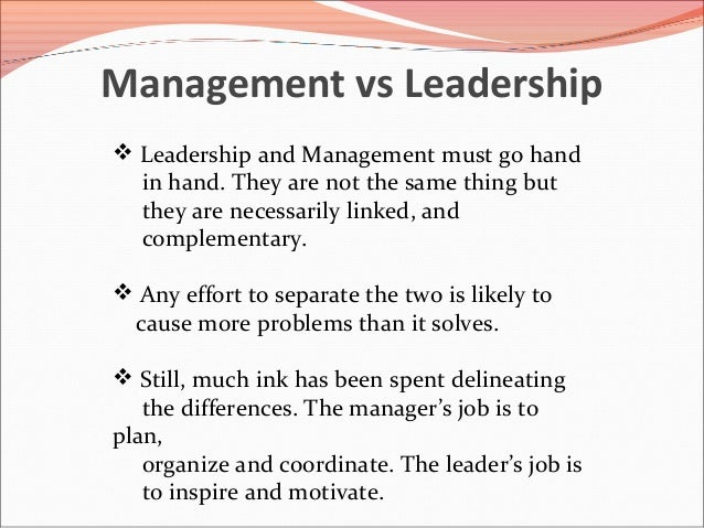 Compare and contrast the leadership theories in