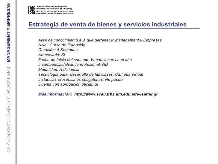 CATÁLOGO 2010 : CURSOS Y DIPLOMATURAS - MANAGEMENT Y EMPRESAS                                                             ...
