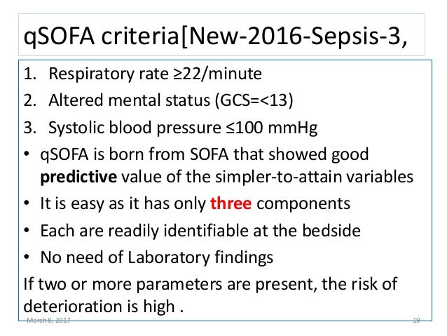 Managemet Of Sepsis And Septic Shock