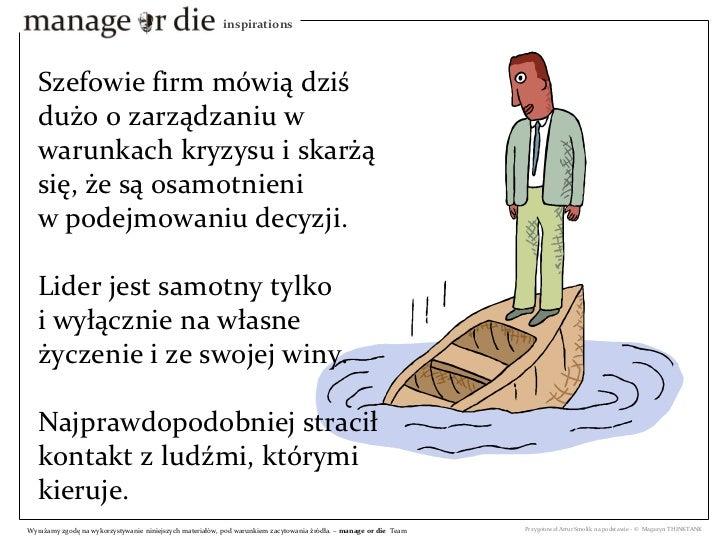 pdf - Samotność szefa - Manage or Die Inspiration Slide 3