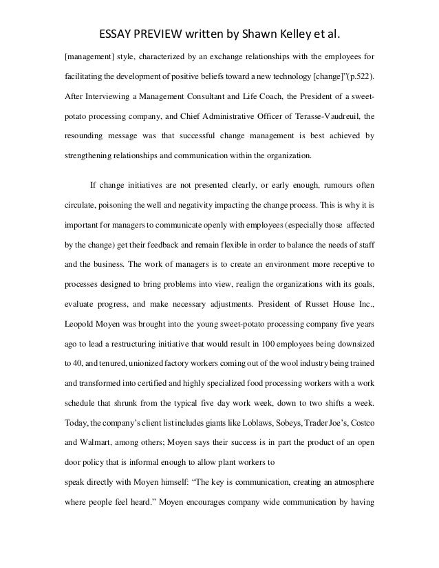 leadership and management essay conclusion