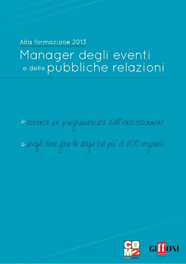 Com2 - Giffoni Academy Ente di formazione accreditato per la formazione base continua e superiore in Emilia Romagna e Camp...