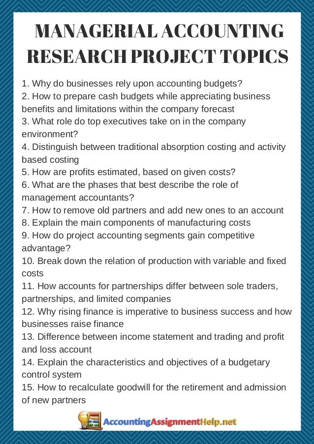 project topics in accounting pdf