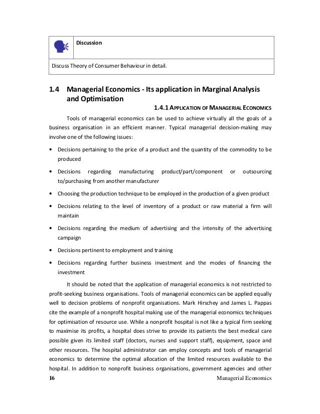 managerial economics chapter 2 applied problems 8 10 11 and 12 Managerial economics is the application of the economic concepts and economic analysis to the problems of formulating rational managerial commonly applied to.