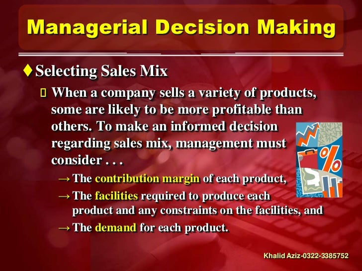 the forces of influences that should be considered when making managerial decisions 152 factors that affect pricing decisions recall from the five forces model discussed in chapter what factors do organizations consider when making price.