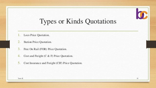 Doc460595 Business Quotation Sample Price Quotation Format – Business Quotation Sample