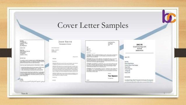 tender cover letter
