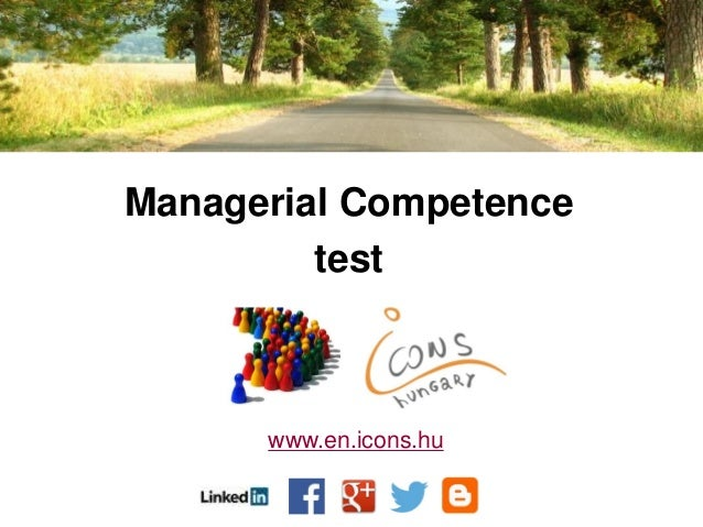 Managerial Competence test www.en.icons.hu