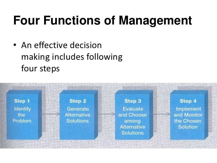 decision making process definition