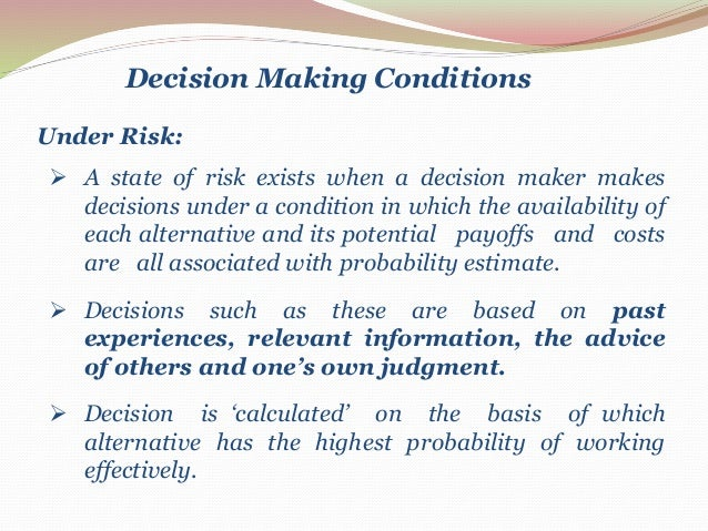application of managerial economics in decision making