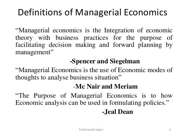 managerial economics definitions On-line glossary of terms & concepts by jim stanford  classical economics: the tradition of economics that began with adam smith, and continued.