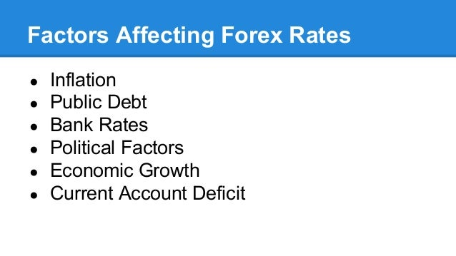 An analysis of the factors affecting the rate of economic growth
