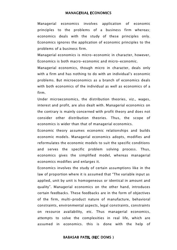 managerial economic Managerialeconomics 0521819938 - managerial economics: a problem-solving approach nick wilkinson frontmatter more information cambridge university press.