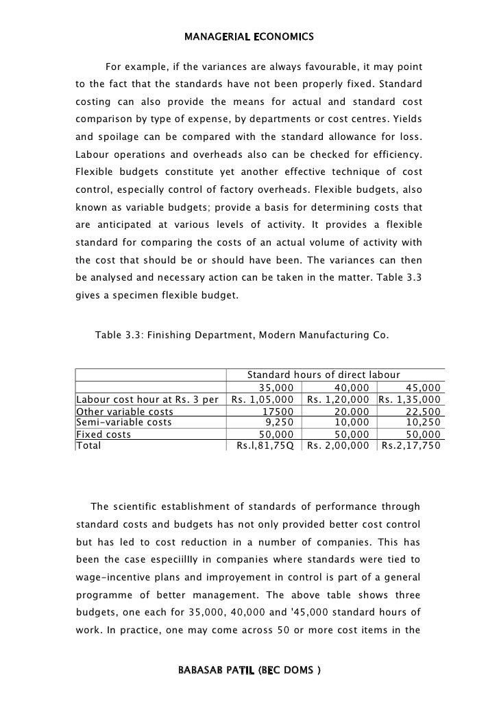 Managerial economics book