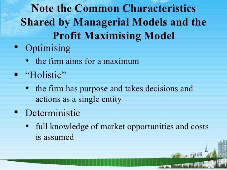 mba managerial economics Managerial economics concerns the decisions made within a firm it is expected that you will be adept at thinking about managerial problems, applying economic analysis this class is intended for students who want to enter the business world or pursue an mba after graduating from lake.
