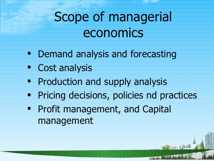 Managerial Economics: Definition, Nature and Scope (UPDATED)