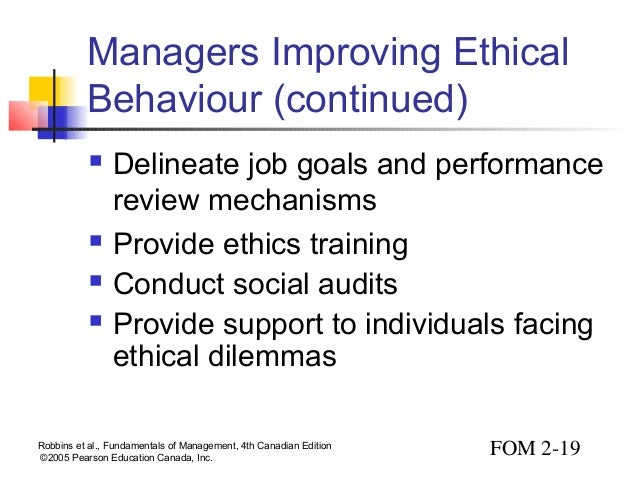 managerial ethics Health prog 1990 jan-feb71(1):76-8, 102 the business of ethics hospitals need to focus on managerial ethics as much as clinical ethics weber lj(1) author information: (1)ethics institute, mercy college of detroit, mi business ethics begins with the recognition of the various values and goods involved in judgements.
