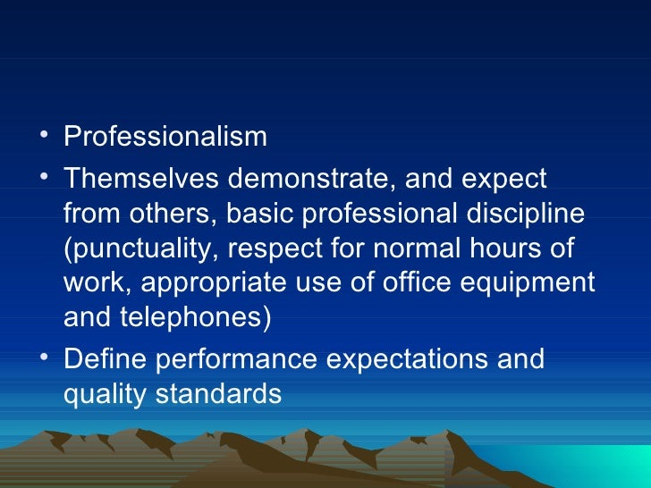 Explain Expectations About Own Work Role as Expressed in Relevant Standards