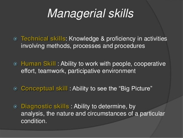 Management roles and skills essay