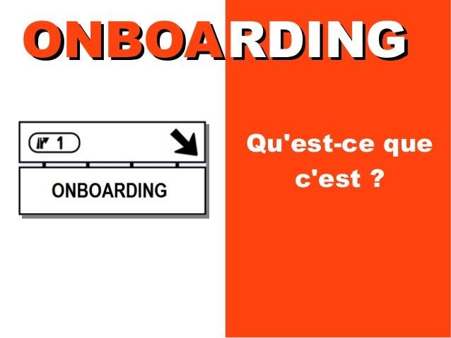 Onboarding: Manager l'intégration en entreprise Slide 3