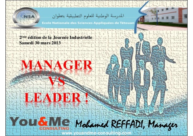 MohamedMohamedMohamedMohamed REFFADI, ManagerREFFADI, ManagerREFFADI, ManagerREFFADI, Manager 2ème édition de la Journée I...