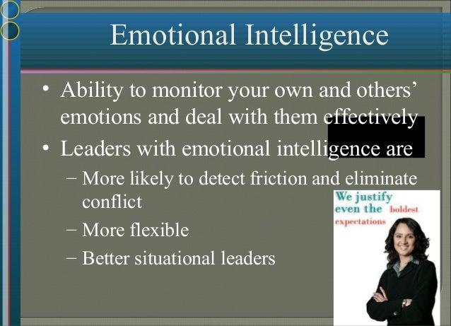 The Basic Leadership Skills  How you manage!  Philosophy, style, approach, attitude, emotional intelligence.  Motivatin...