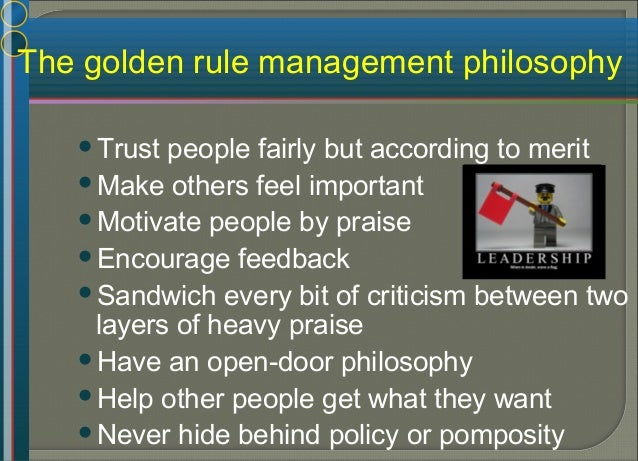 The effective management of people Figure 7.5