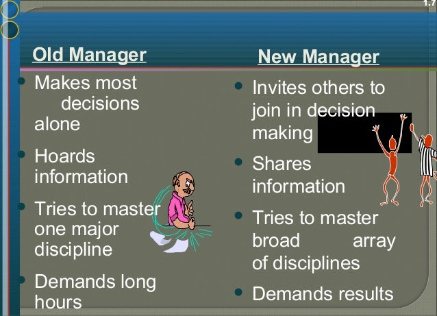 Assessing a manager's effectiveness The strength of motivation & the morale of staff The success of their training & dev...