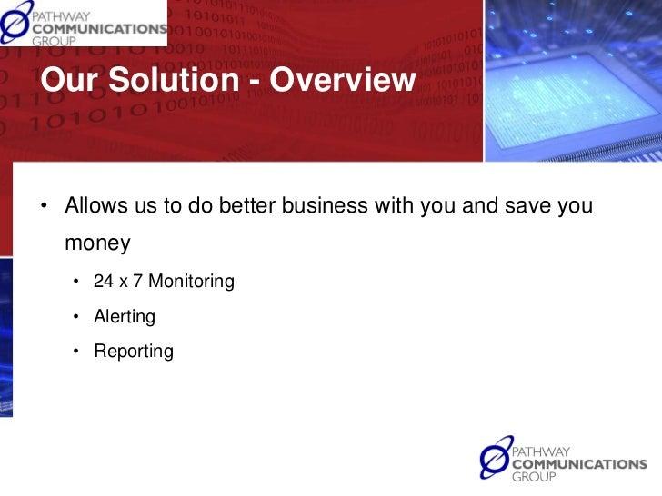 Manage services presentation Slide 3