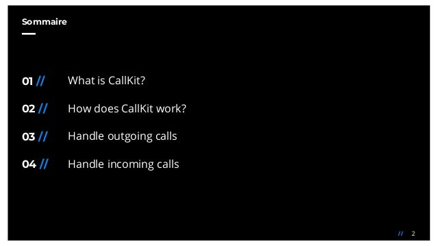 Manage your calls with CallKit