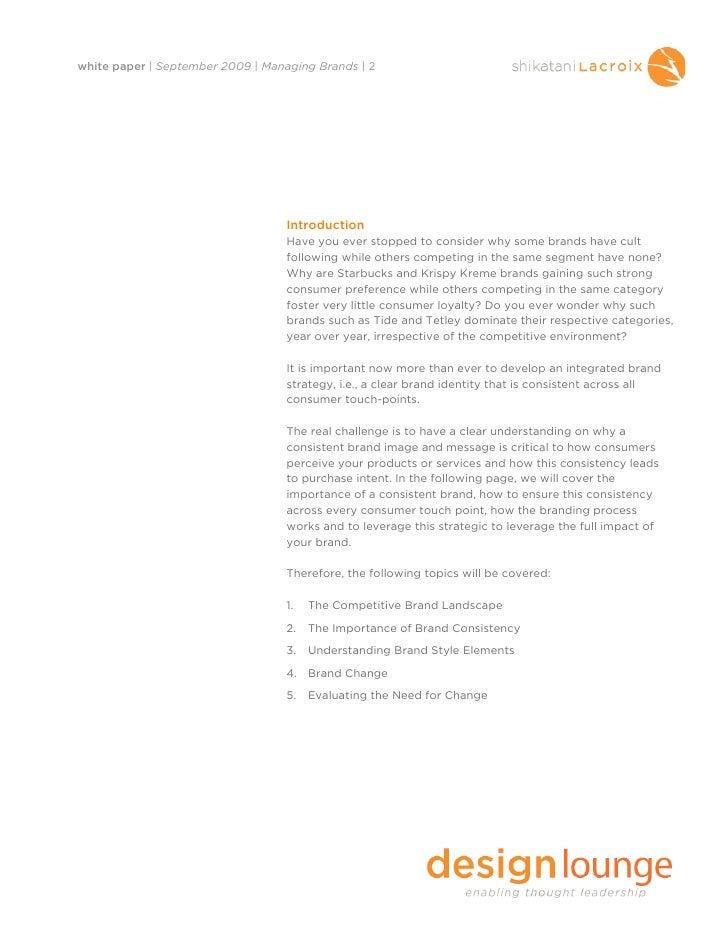 Managing Brands Slide 3