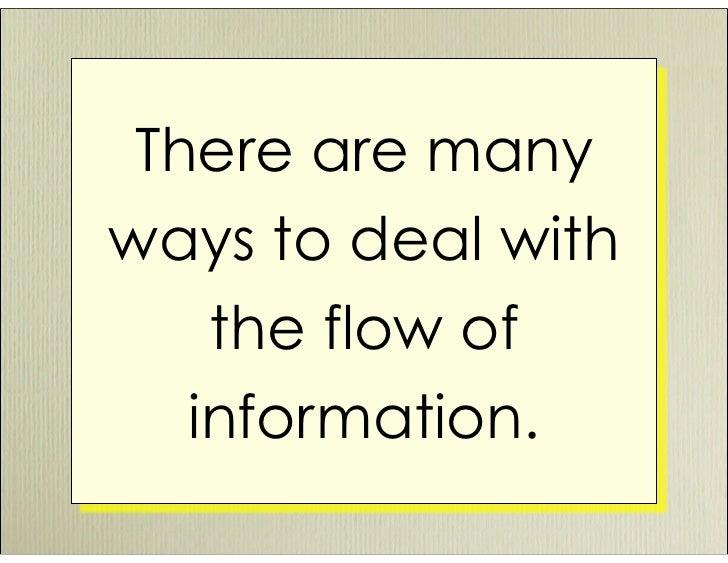 Managing Information Overload Slide 2
