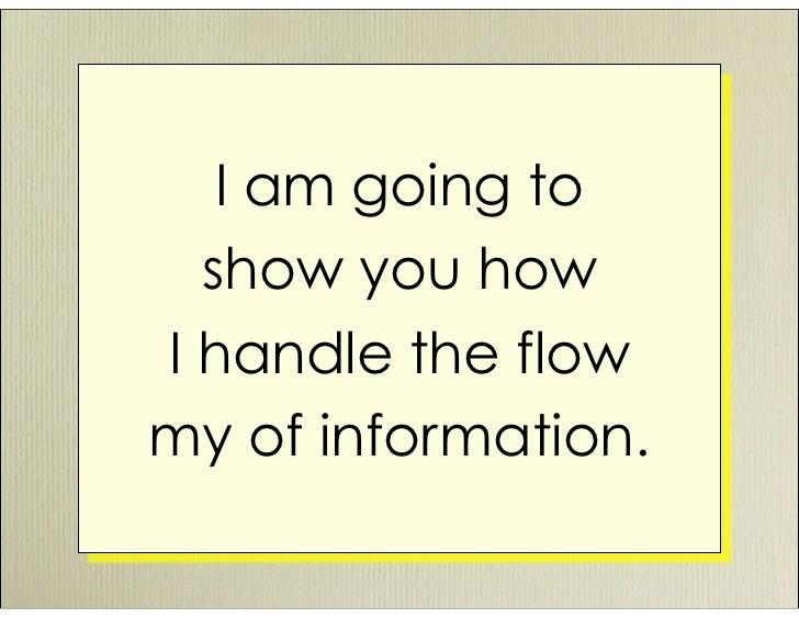 Managing Information Overload Slide 3