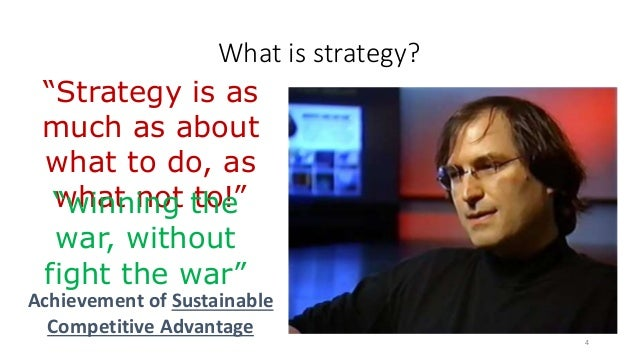 """What is strategy? 4 """"Strategy is as much as about what to do, as what not to!""""""""winning the war, without fight the war"""" Ach..."""