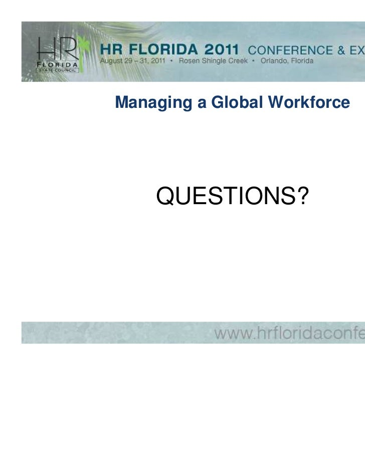 managing a global workforce in pakistan 2011-10-20  cross cultural differences and their implications for managing international projects   philippines, nigeria, and pakistan).