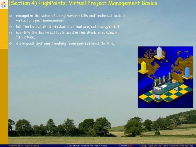 virtual teams and virtual project management essay Del 7610 virtual team and project management covers current issues, emerging trends, and best practices in managing virtual teams and projects content will include topics such as optimal team composition, virtual team development, communicating and leading virtually, performance management, project management charters, work breakdown structure .