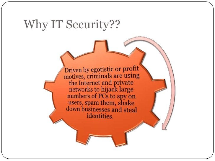 Why IT Security??