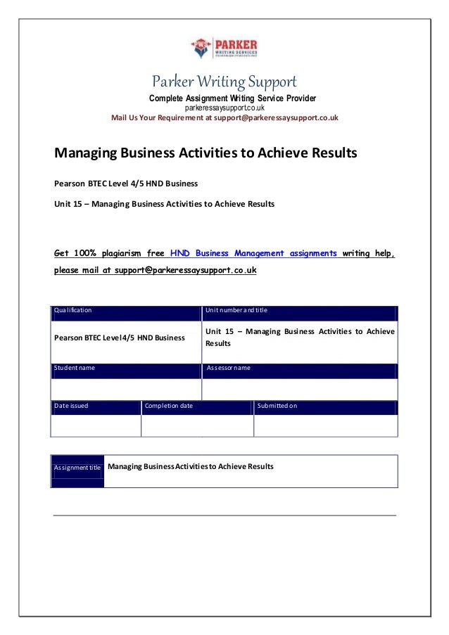 managing operational activities to achieve business Managing activities to achieve results table of contents table of contents 2 introduction 3 task 1 3 the roles and the significances of use of standards in an o.